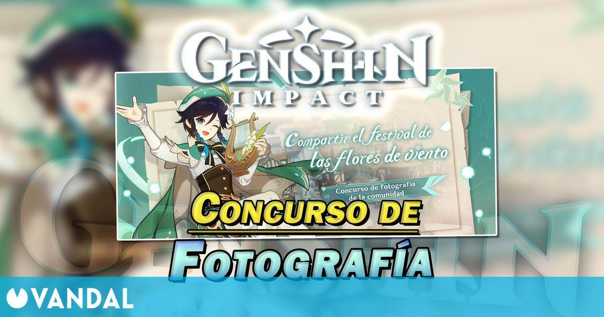 Genshin Impact: Gana Protogemas gratis en el nuevo concurso de fotografías