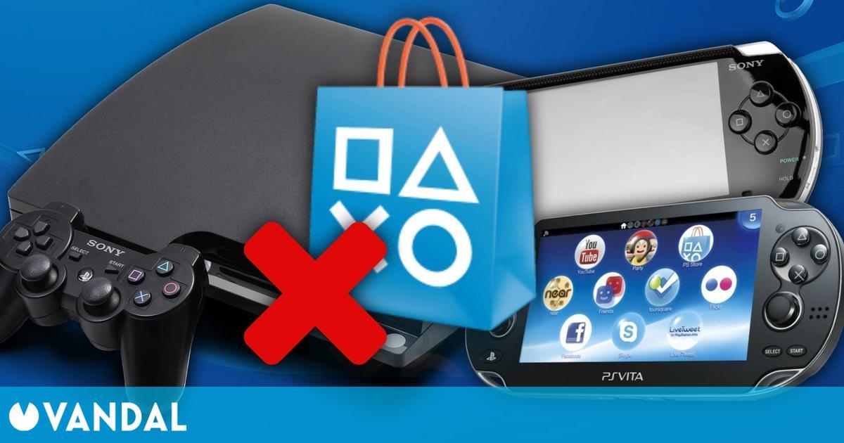 Sony cerrará las PS Store de PS3, PSP y PS Vita en julio, según fuentes cercanas