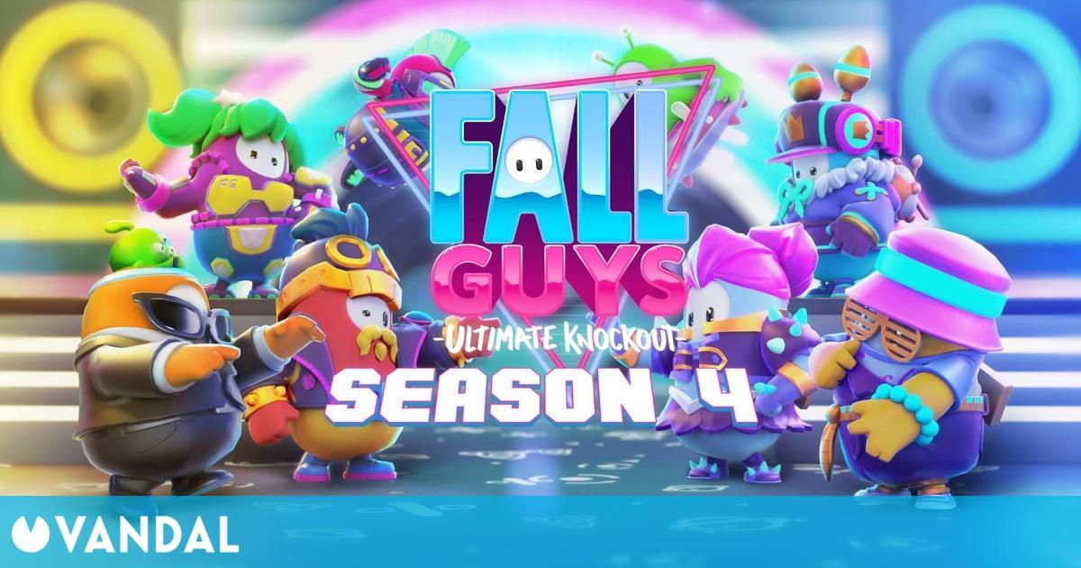 Fall Guys: Ya disponible la cuarta temporada con nuevas pruebas, modos, disfraces y más