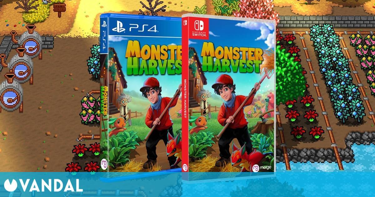 Monster Harvest, la mezcla entre Stardew Valley y Pokémon, ya tiene fecha de lanzamiento