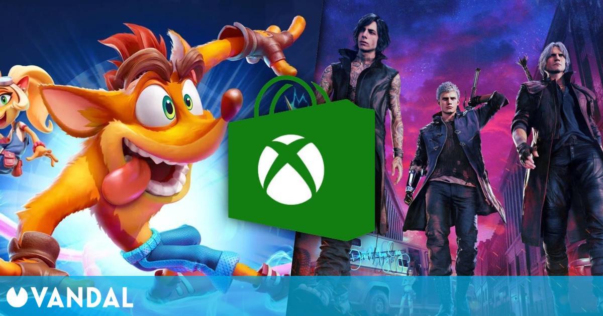 Ofertas Xbox: Crash Bandicoot 4, Watch Dogs Legion, juegos de Capcom y más