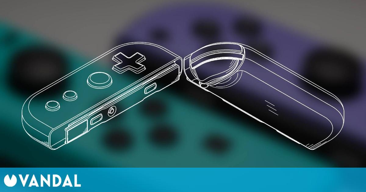 Nintendo Switch Pro: Así podrían ser sus Joy-Con según una patente