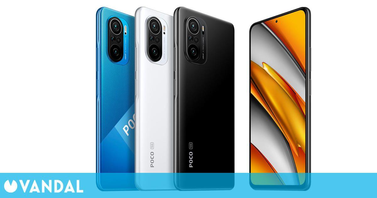 POCO F3 es el nuevo teléfono para jugar por un precio a partir de los 299,99