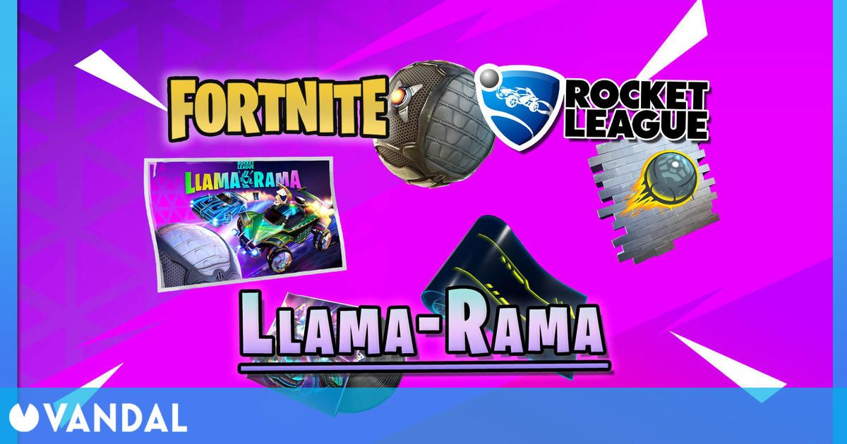 Nuevo evento Llama-Rama en Fortnite y Rocket League: desafíos y recompensas
