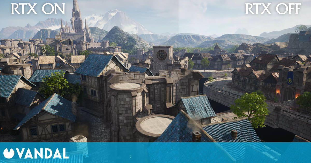 World of Warcraft: Recrean lugares del juego en Unreal Engine 4 y con trazado de rayos