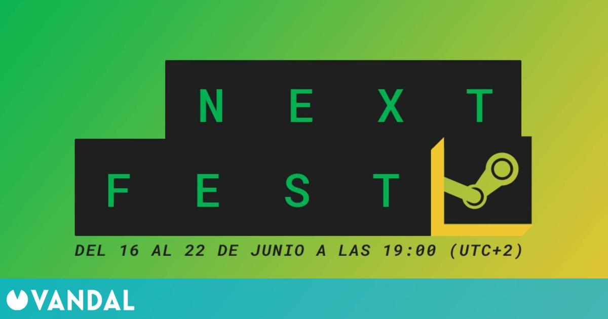 Steam celebrará su Next Fest, antes conocido como Festival de Juegos, del 16 al 22 de junio