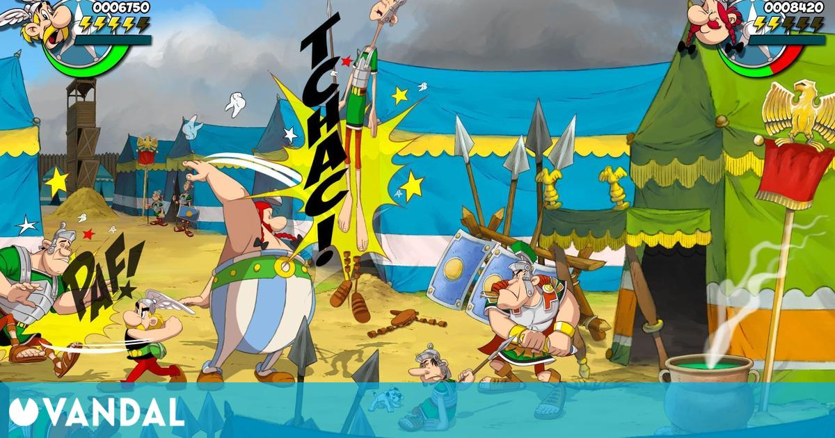 Anunciado Asterix & Obelix: Slap Them All, un beat'em up 2D para PS4, Xbox One, PC y Switch
