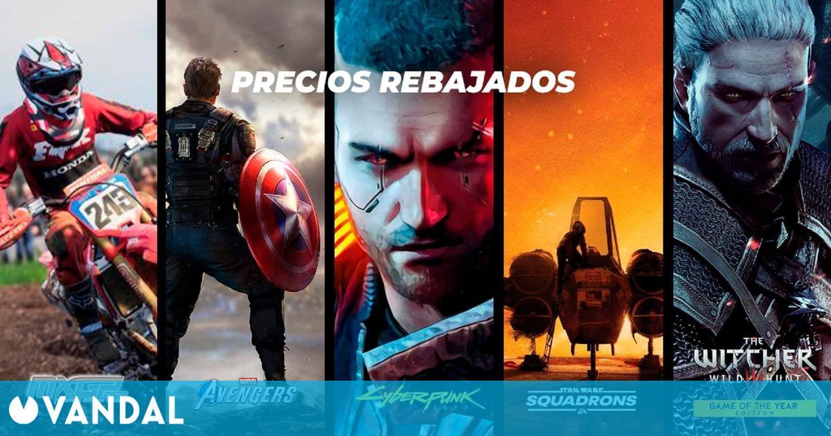Las ofertas de Bandai Namco y EA vuelven a TTDV: Cyberpunk, Avengers, Dragon Ball y más
