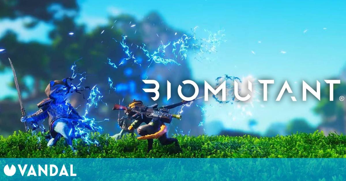Biomutant presume de la versatilidad de su combate en un nuevo tráiler gameplay