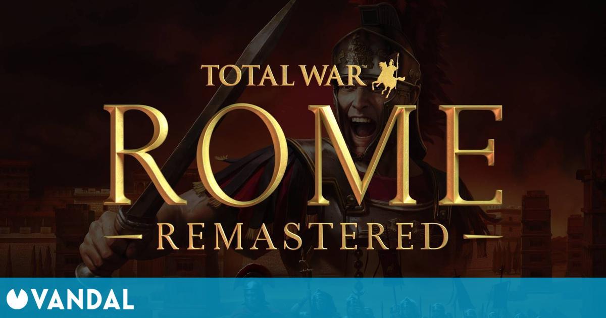 Total War: Roma Remastered llega el 29 de abril a PC con gráficos 4K y nuevo contenido