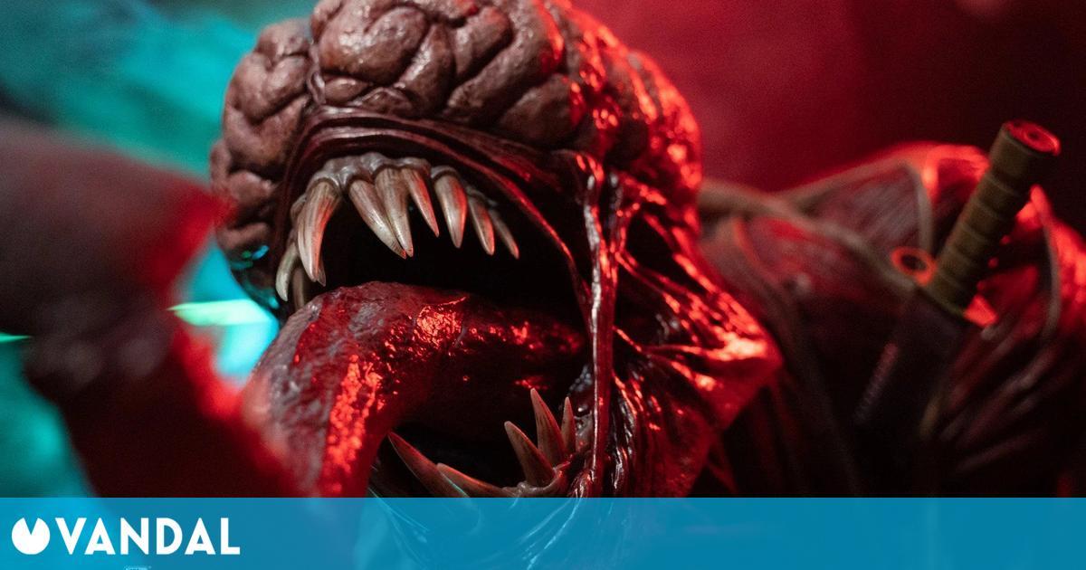 Así es el busto de un Licker, el enemigo de Resident Evil 2, de casi 800 euros