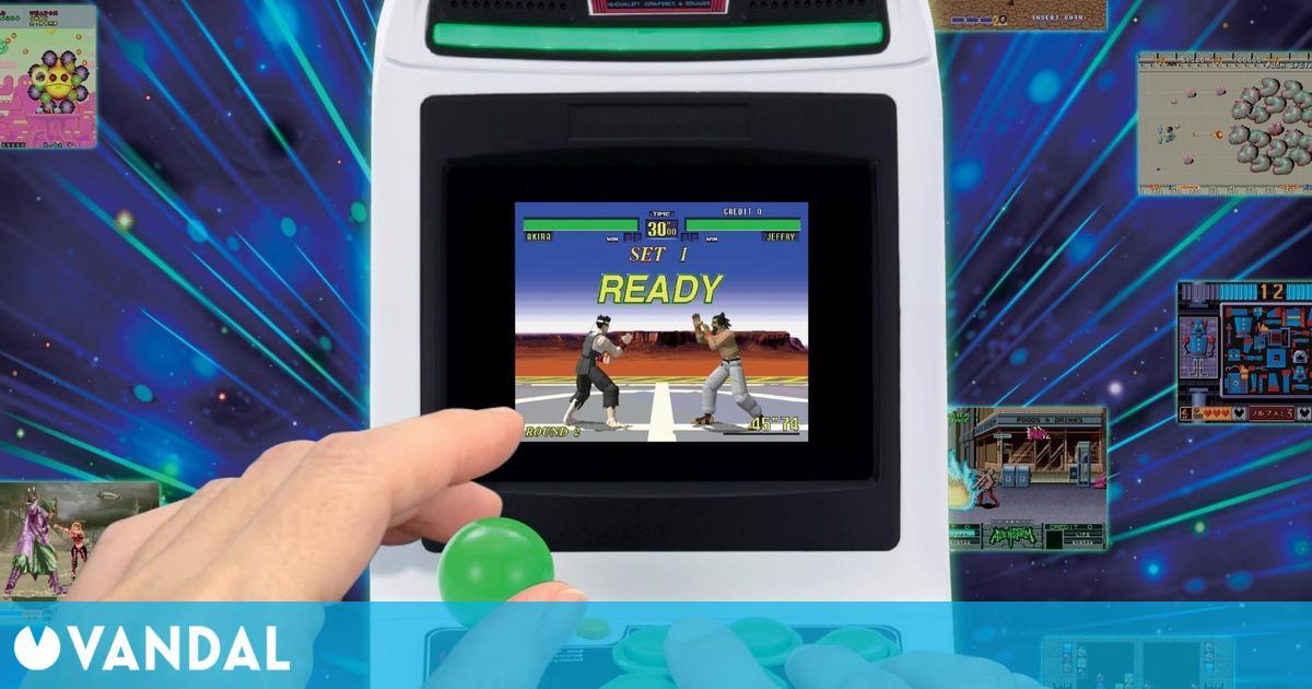 La Sega Astro City Mini puede reservarse desde España por 172 euros