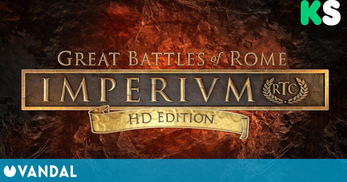 Imperium: Great Battles of Rome HD Edition reaparece y apunta a financiarse en Kickstarter