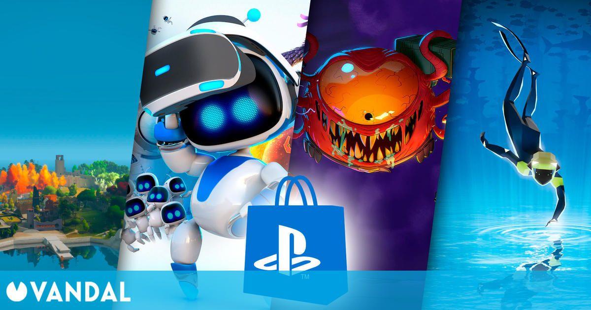 Ya puedes descargar gratis 9 juegos de PS4: Subnautica, Astro Bot, Enter the Gungeon y más