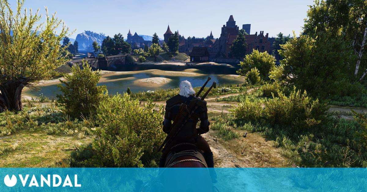 The Witcher 3 luce así de bien a 4K y con más de 50 mods