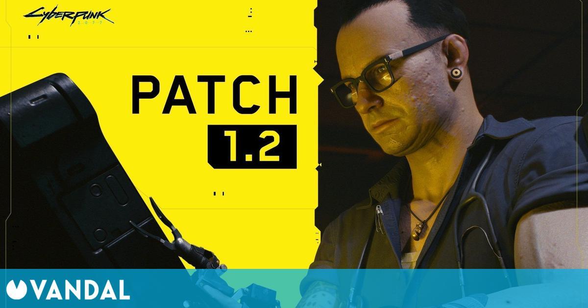 Cyberpunk 2077: Ya disponible el parche 1.2 en consolas y PC