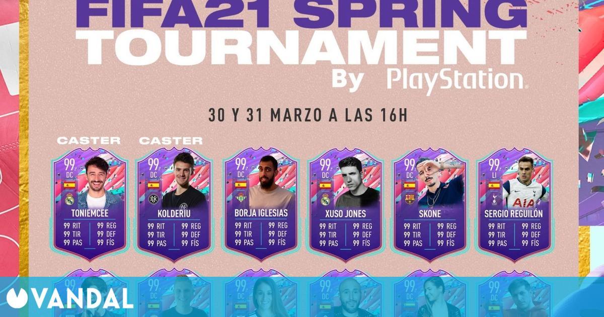 EA España enfrentará a Borja Iglesias, Kiko Rivera, Chuty o Skone en un torneo de FIFA 21