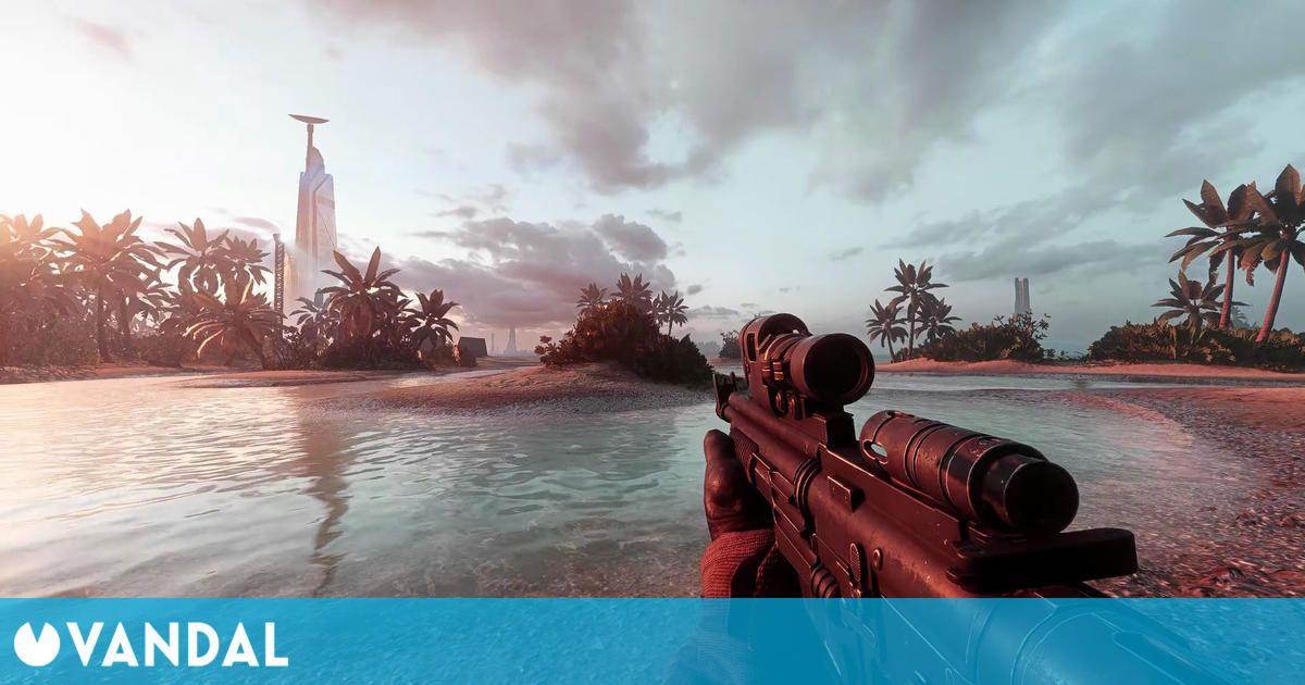 Star Wars: Battlefront 2 parece real a 4K gracias a los mods y al ray tracing