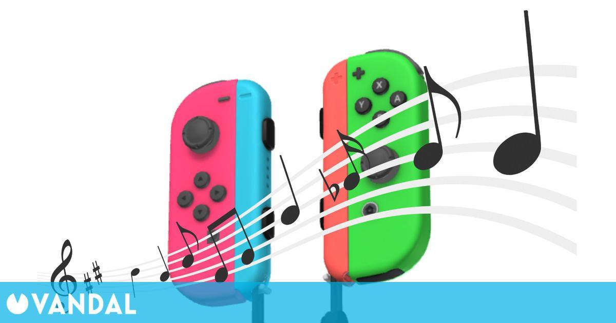 Crea un programa para reproducir música con la vibración de los Joy-Con de Switch
