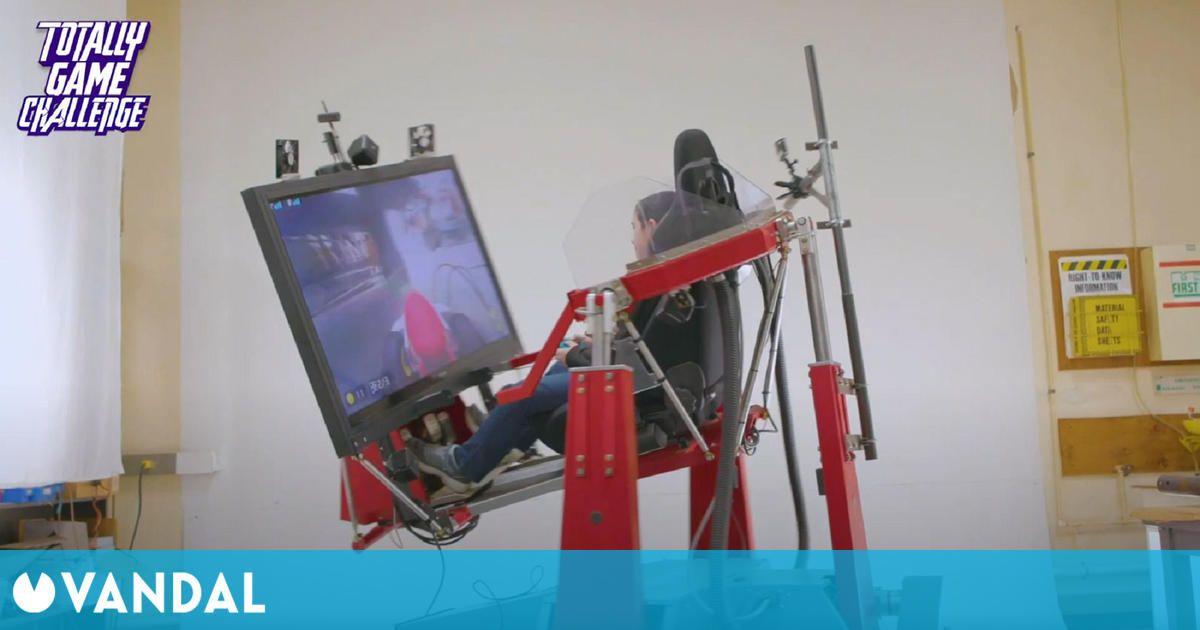 Un padre crea un simulador de Mario Kart para su hijo basado en Home Circuit