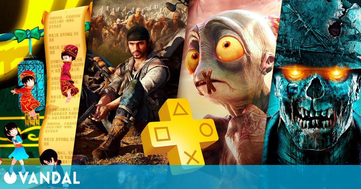 Estos serán los juegos gratis de PS Plus en abril de 2021 para PS4 y PS5
