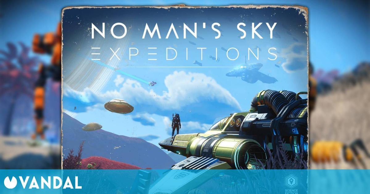 No Man's Sky recibe Expeditions, una actualización gratuita con un nuevo modo de juego