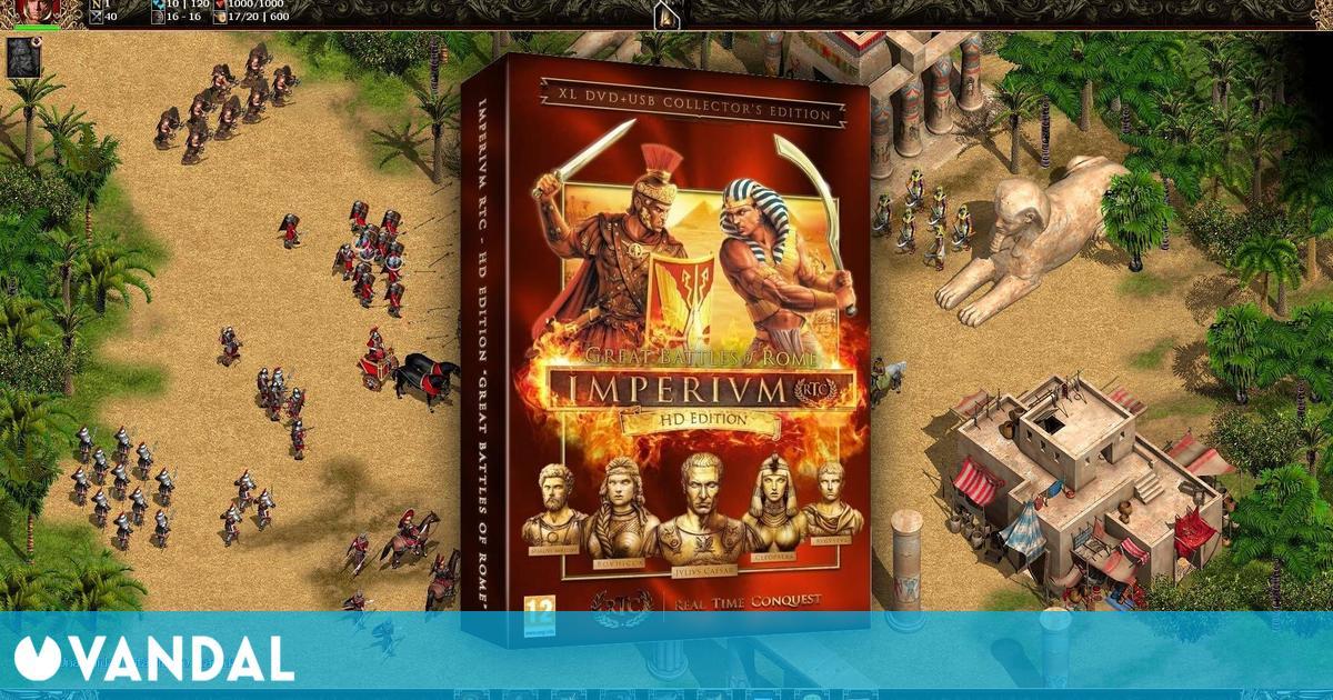 Imperivm RTC: HD Edition, la revisión del clásico de 2004, busca apoyo en Kickstarter
