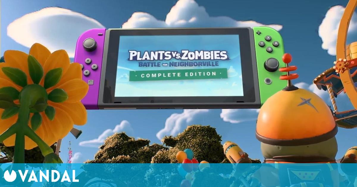 Plants vs. Zombies: Battle for Neighborville: Explican la dificultad de llevarlo a Switch