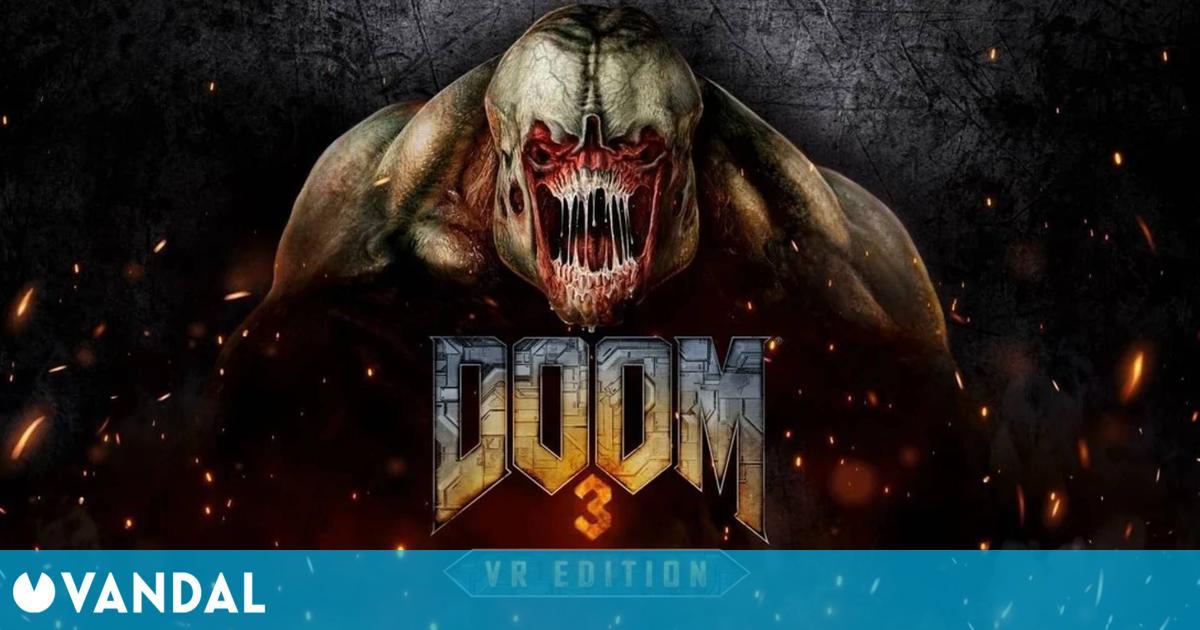 Bethesda anuncia Doom 3: VR Edition, una revisión del clásico que llegará este mes a PS VR