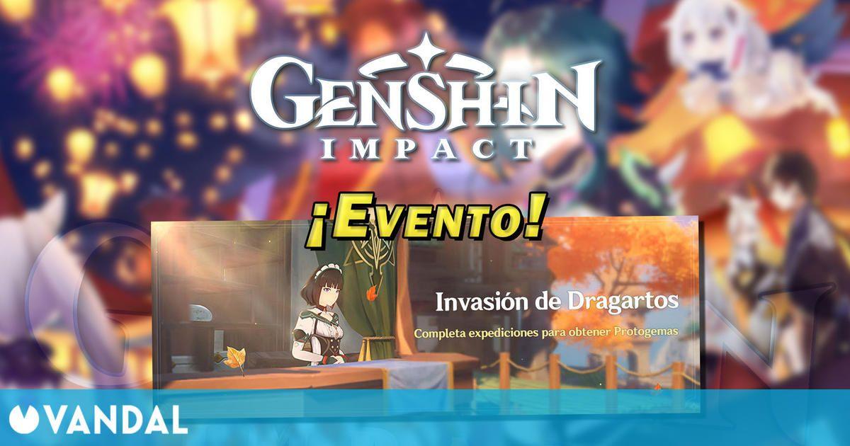 Genshin Impact – Invasión de Dragatos: Consigue Protogemas gratis en este evento