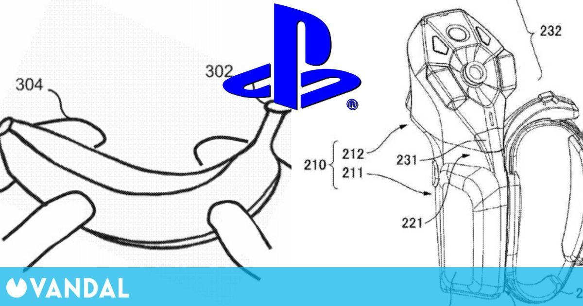Nuevas patentes de Sony: Usar plántanos como mandos y un posible pad de PSVR 2