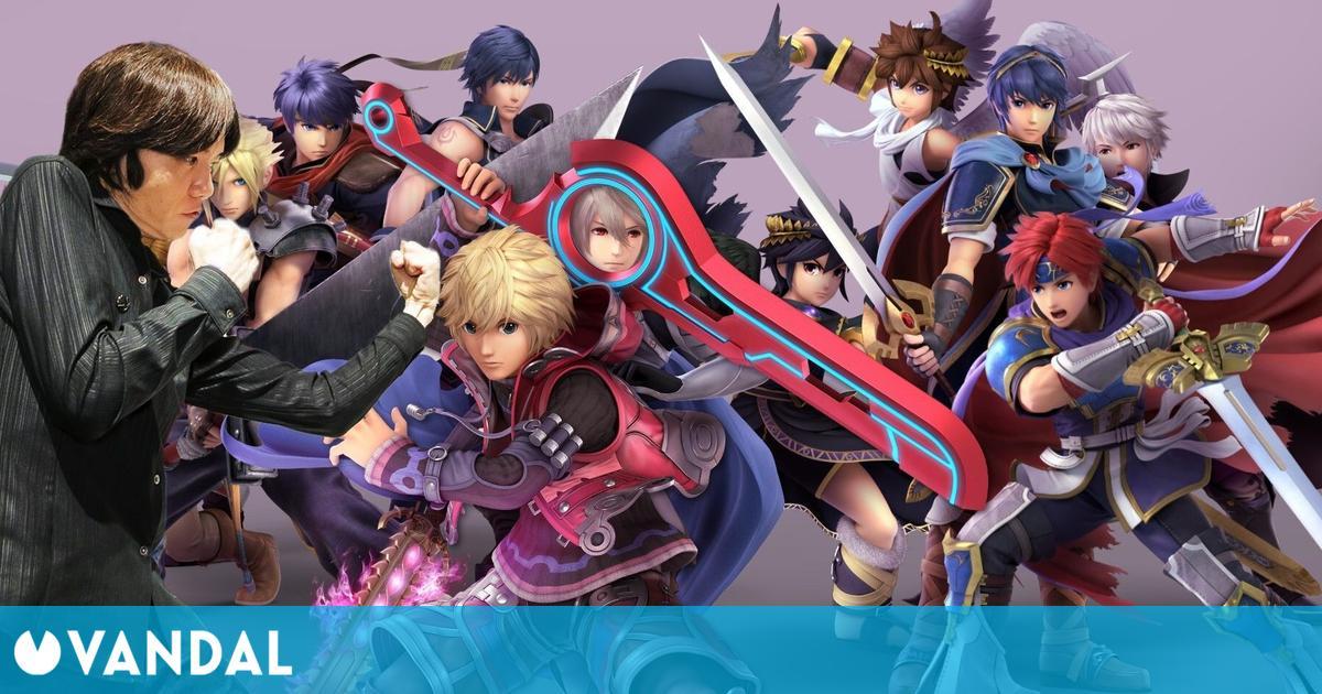 Sakurai sobre la multitud de espadachines en Super Smash Bros.: «No depende de mí»