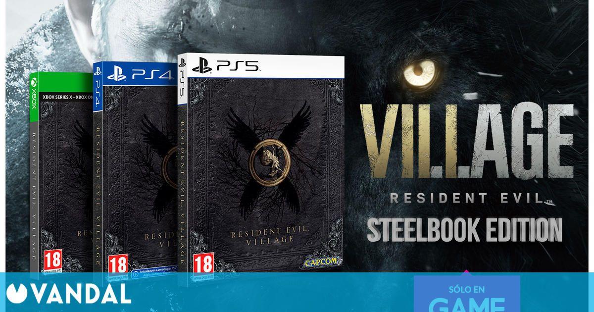 GAME: Ya podemos reservar la edición Steelbook de Resident Evil Village
