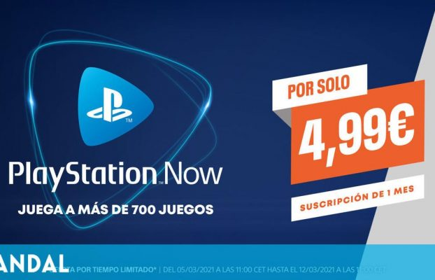 Oportunidad única para adquirir un mes de PS Now por solo 4,99 euros hasta el 11 de marzo