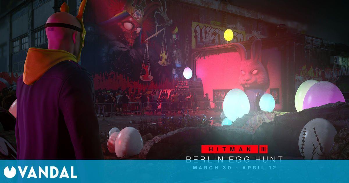Hitman 3 presenta su hoja de ruta para marzo: habrá que buscar huevos en Berlín