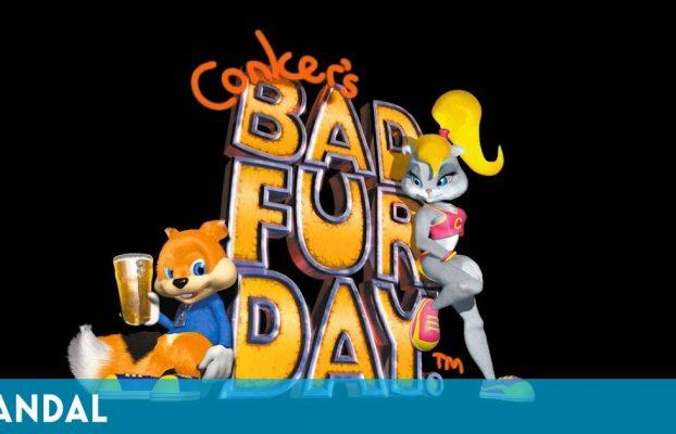 Conker's Bad Fur Day cumple hoy 20 años