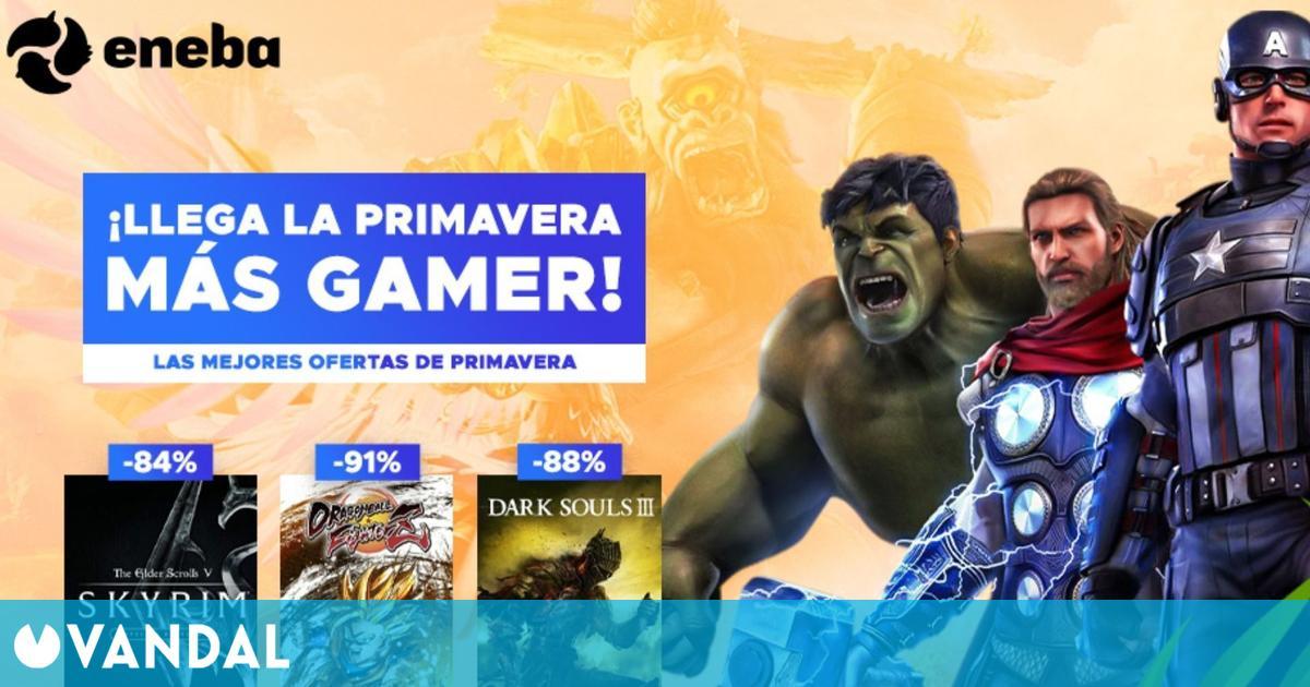 Más de 30 ofertas en juegos de PC y consola en Eneba