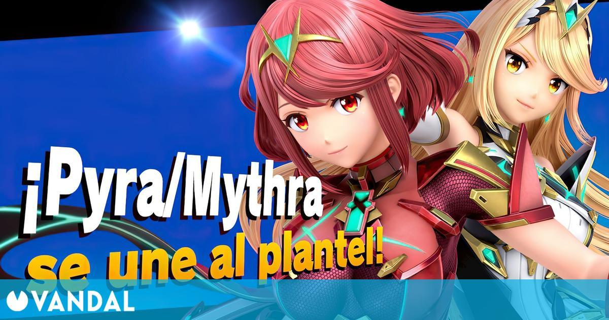 Super Smash Bros. Ultimate: Pyra y Mythra ya están disponibles