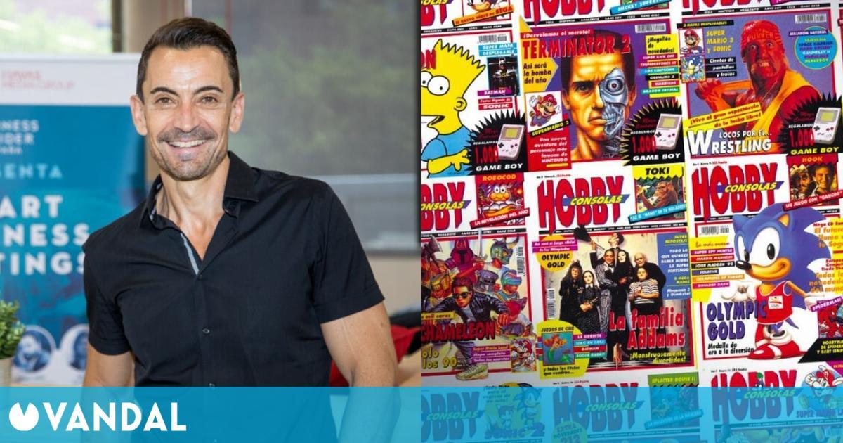 Manuel del Campo recuerda tres décadas de historia de Hobby Consolas