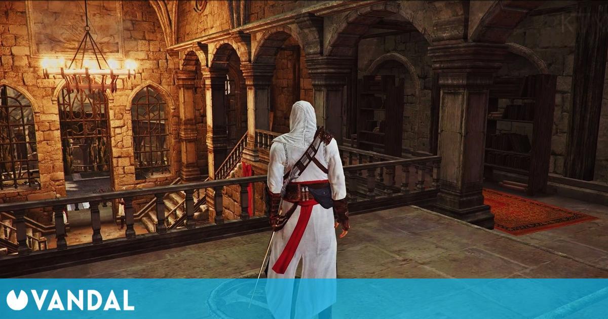 Assassin's Creed: La comunidad remasteriza la primera entrega y este es el resultado