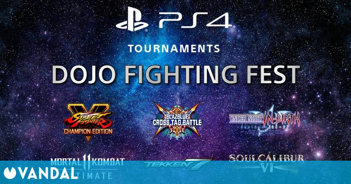 Llega Dojo Fighting Fest, un evento de juegos de lucha de PS4 que comenzará el 11 de marzo