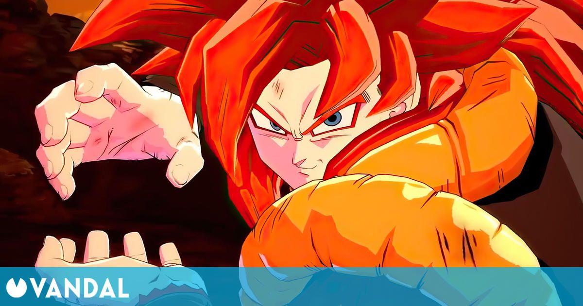 Gogeta SS4 llega a Dragon Ball FighterZ el 12 de marzo, dos días antes con FighterZ Pass 3