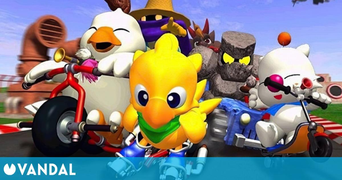 Square Enix registra la marca Chocobo GP en Europa y otros territorios