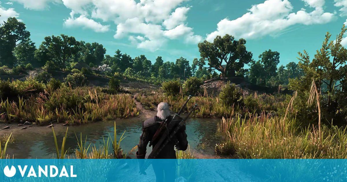 Así luce The Witcher 3 en PC a 8K, con ray tracing y más de 50 mods