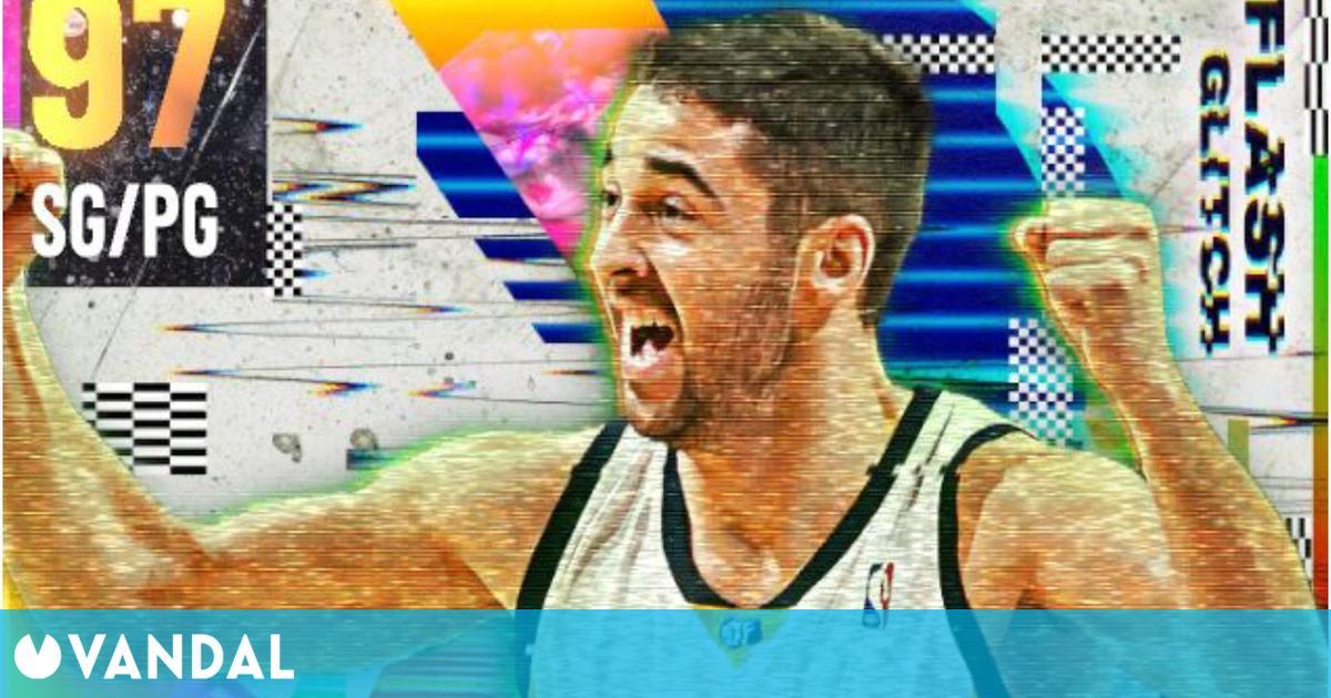 Juan Carlos Navarro se estrena en Mi Equipo de NBA 2K21