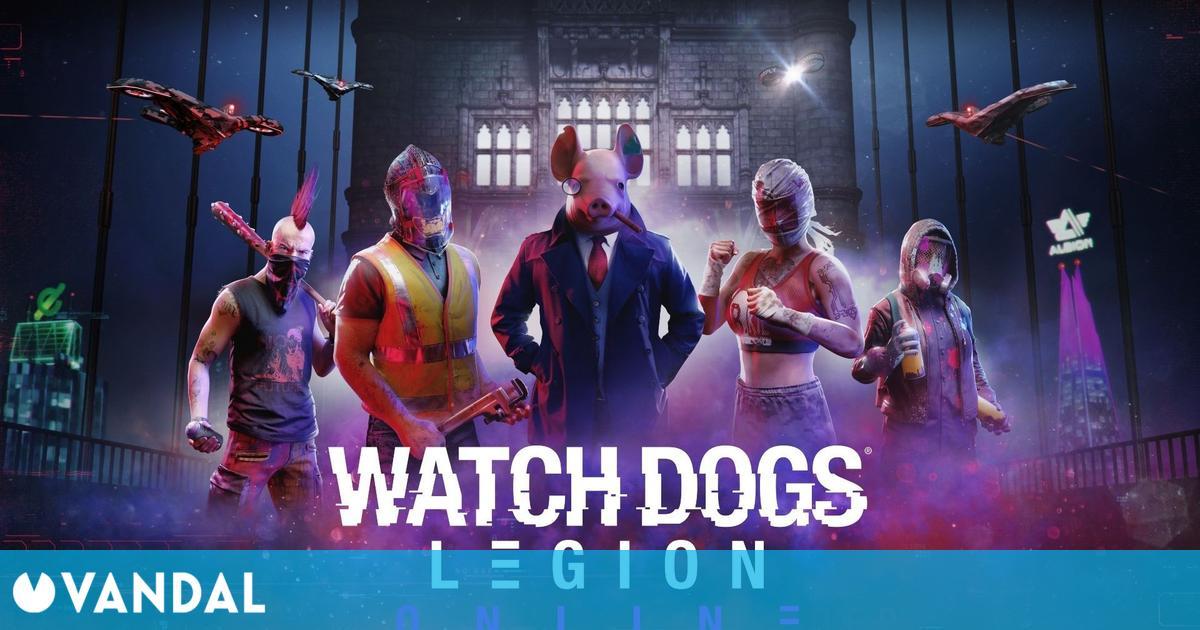Watch Dogs Legion ya dispone de modo online gratuito en PS5, Xbox Series X/S, PS4 y Xbox One
