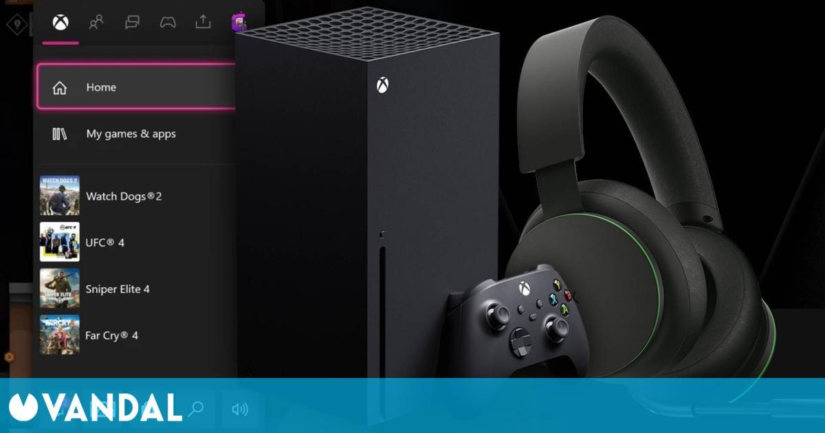 Xbox se actualiza con acceso rápido a FPS Boost, opciones para el nuevo headset y más
