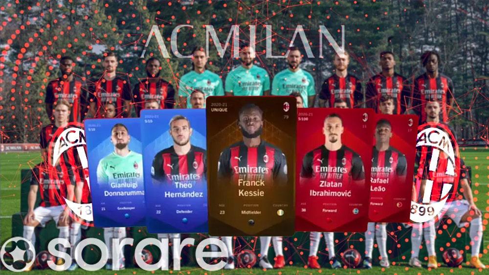 Club de fútbol AC Milan lanza NFT en Ethereum
