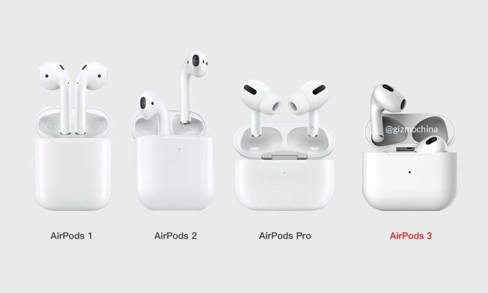 Apple AirPods 3, los rumores apuntan a un lanzamiento marzo