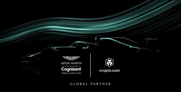 Crypto.com se asocia con Aston Martin Cognizant Formula One™ Team